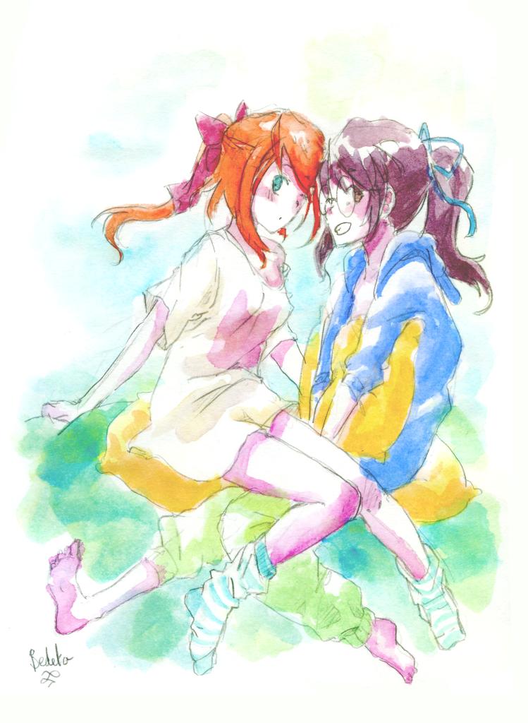 Akari et Nanami couleur